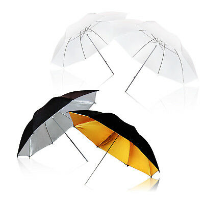 4 pieces 3ColorsTranslucent Soft Umbrella for Photo Video Studio Shooting