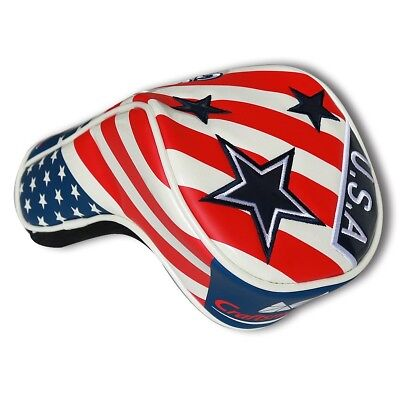 US Star Driver Headcover USA Flag Head Cover For Callaway Odyssey Taylormade New