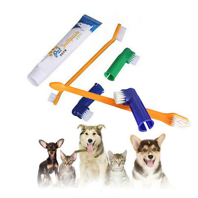 Remove Pet Teeth Cleaning Set Dog Oral Care Cat Dental Grooming Toothpaste