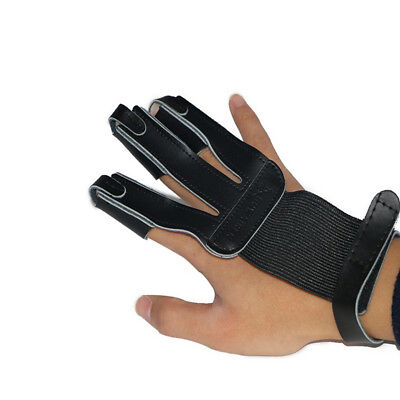 Durable Protect Glove Gear Finger Hand Guard For Archery Bow Shooting Hunting