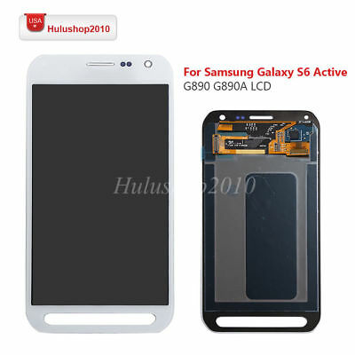 For Samsung Galaxy S6 Active G890 G890A LCD Screen Digitizer Touch Replacement