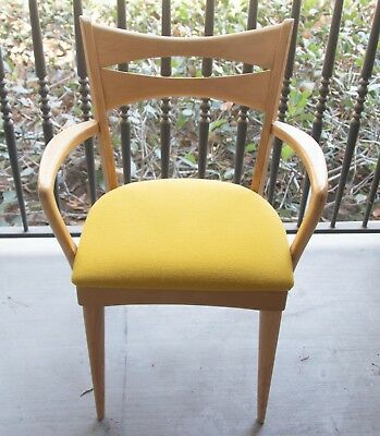 Heywood-Wakefield Vintage Cat's Eye Arm Chair M1553A
