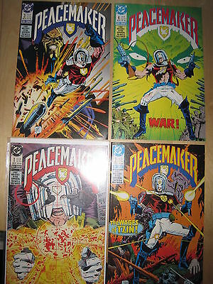 PEACEMAKER : COMPLETE CLASSIC 4 ISSUE SERIES by KUPPERBERG, SMITH.1.2.3. DC.1988