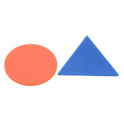 Plastic Board Game Counters Tiddly Winks Numeracy Teaching Multicolors C