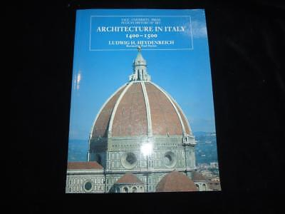 Architecture in Italy 1400-1500 Heydenreich Yale University Pelican History Art