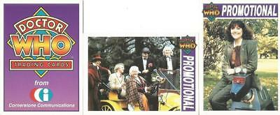 Dr Doctor Who Cornerstone Series 1 Promo Trading Card Selection
