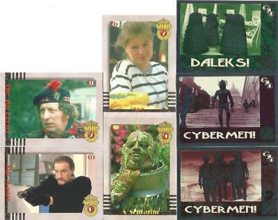 Dr Doctor Who Cornerstone Series 2 Trading Cards Chase Card Selection
