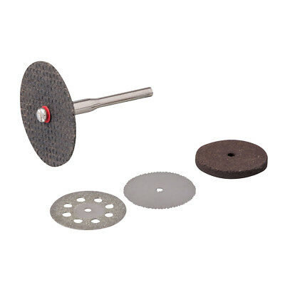 Rotary Tool Cutting & Grinding Disc Set 5pce 22, 32mm Discs HSS Saw Blade DIY