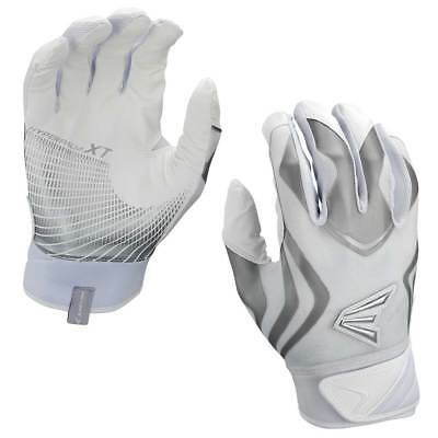 New Easton Prowess Female Womens Large Fastpitch Softball Batting Gloves White