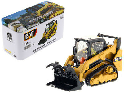 CAT Caterpillar 259D Compact Track Loader with Operator and Tools High Line Seri