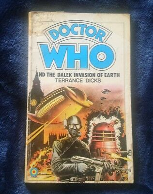 Doctor Who and the Dalek Invasion of Earth by Terrance Dicks (1982 paperback)