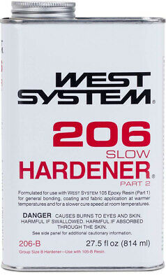 West System 206 Slow Epoxy Hardener (.86 qt)