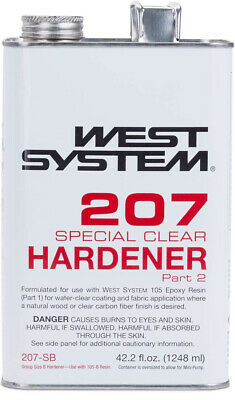 West System 207 Special Clear Epoxy Hardener (.33 gal)