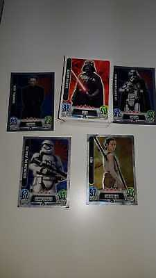 Lote De + 70 Cromos Star Wars Force Attax