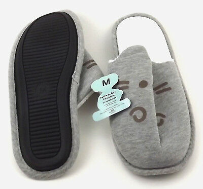 Pusheen Gray Slippers Spring 2018 Box size M Medium NWT New [GS C5]