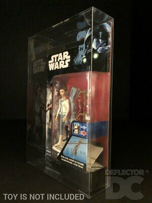 """Star Wars Rogue One 3.75"""" Figure Protective Display Case Deflector DC®"""