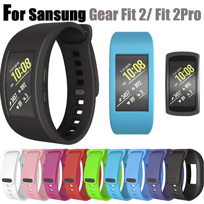 Silicone Band Wirstband Sport Replacement Strap For Sansung Gear Fit 2/ Fit 2Pro