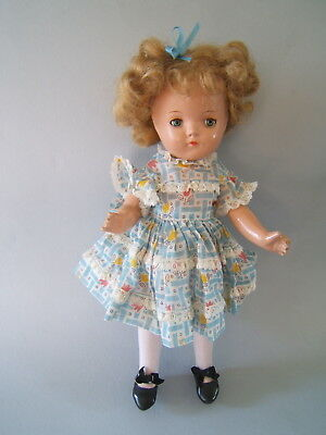 """Vintage 1935 Mme Alexander 13"""" Betty Face Little Colonel Doll HTF"""