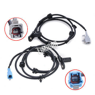 2 Pcs  Rear Left & Right ABS Wheel Speed Sensor For 04-08 Nissan Maxima ALS349