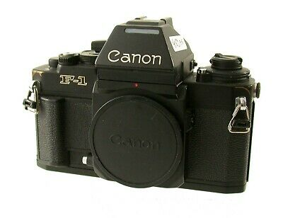 CANON F1 F-1N NEW 35mm SLR body premium AE finder FN FD iconic high end  /18