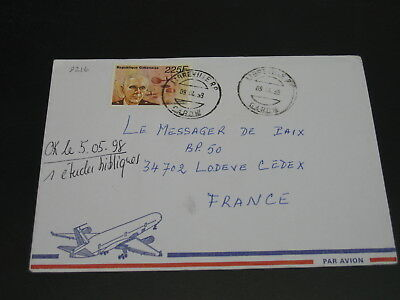 Gabon 1999 airmail cover to France *9216
