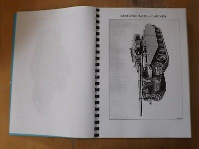 Centurion tank.Mk9&10.Illustrated parts list.W.O.Code No.12969.Part One.