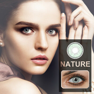 1 Pair Eye Makeup Charming Colour Contact Lenses Cosmetic Beauty Tool Piacevole