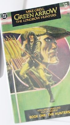 GREEN ARROW: THE LONGBOW HUNTERS Book 1 (First Shado, 1st Printing, Mike Grell)
