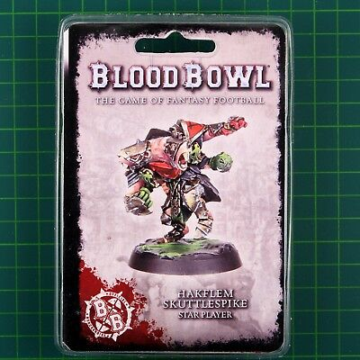 Blood Bowl Star Player Hakflem Skuttlespike Fantasy Football Forge World
