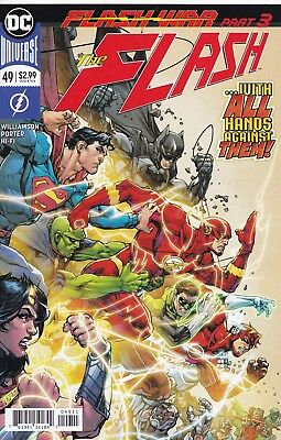 FLASH (2016) #49 - Cover A - DC Universe Rebirth - New Bagged