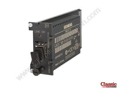 Siemens   6ES7960-1AA04-0XA0   Sync Submodule for Patch Cable (Refurbished)