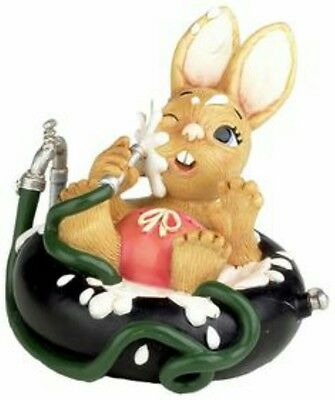 Pendelfin Bunny Rabbit Figurine - Josè Playing With Hose Toddler Trouble - New