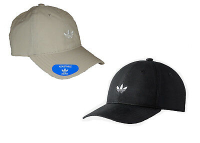 f5e69711e15 Adidas Originals Modern Relaxed Hat   Cap NEW Trefoil Strapback Black or  Khaki