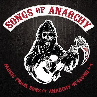 SONGS OF ANARCHY CD BRAND NEW Music From Sons Of Anarchy Seasons 1-4
