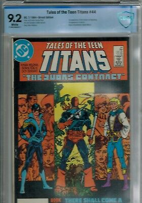 Tales of the Teen Titans #44 CBCS 9.2 White Pages *1st Dick Grayson as Nightwing