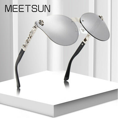 Cat Eye Sunglasses Womens Driving glasses Fashion Gothic UV400 Mirrored Eyewear