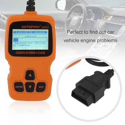 OBDMATE OM123 OBDII Car Fault Engine Code Reader Auto Diagnostic Scanner Tool UK