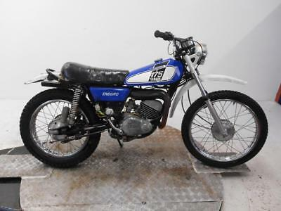 1976 Yamaha DT175C Unregistered US Import Barn Find Classic Restoration Project