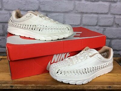 34a7de4ac00bf Nike Ladies Uk 5 Eu 38.5 Neutral Cream Mayfly Woven Suede Trainers Rrp £95
