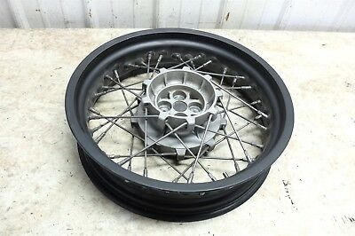 12 Moto Guzzi Stelvio NTX 1200 rear back wheel rim straight