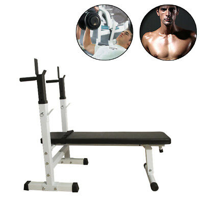 Weight Bench Incline Strength Training Press Fitness Home Gym Exercise Equipment