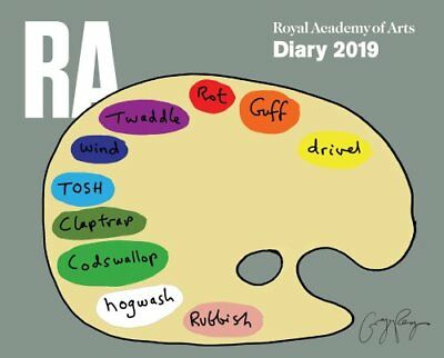 Royal Academy of Arts Desk Diary 2019 by Flame Tree Studio 9781786649744