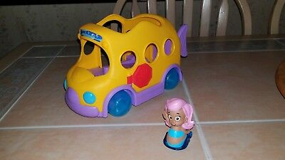 Fisher Price Bubble Guppies Swim Sational School Bus And Molly