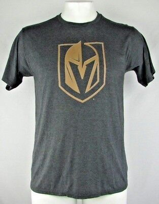 Las Vegas Golden Knights NHL Men Charcoal Gray Crew Neck Short Sleeve T-Shirt