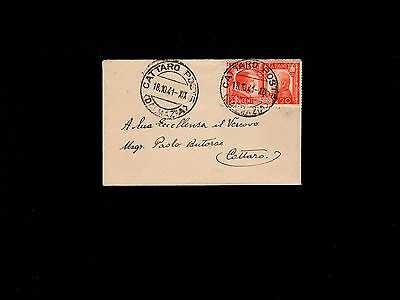 Italy Germany  2 People 1 War Occupied Croatia Usage Dalmatia 1941 Cover 7m