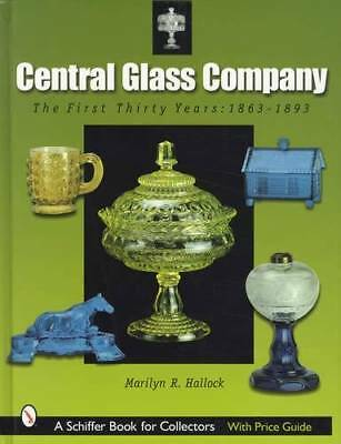 Antique Central Glass Co 1863-1893 Collector Ref w/ Flint, EAPG Patterns, Lamps