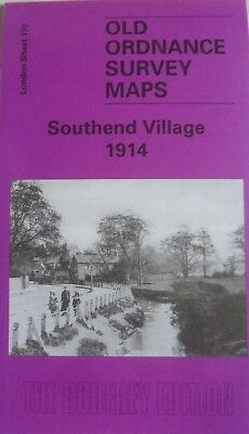 Old Ordnance Survey Maps Southend Village London 1914 Godfrey Edition New
