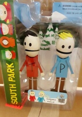 South Park TERRANCE & PHILIP action figure - New In Box