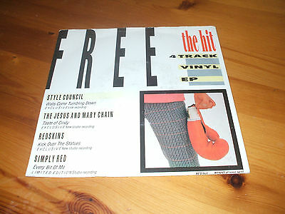 """The Hit Magazine Ep-Style Council/jesus & Mary Chain/redskins/simply Red[7""""]"""