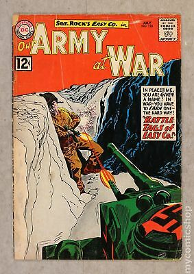 Our Army at War #120 1962 GD+ 2.5
